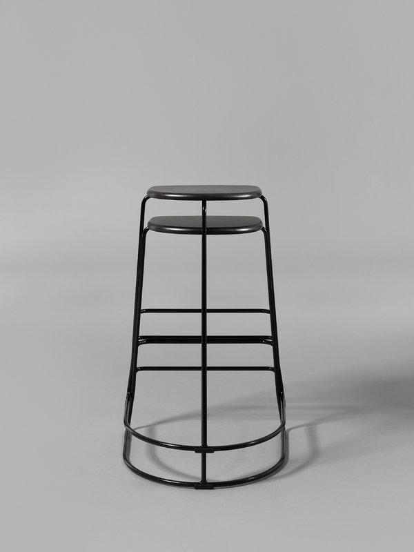 ghost chair bar stool how to make a giant bean bag minus tio citizen 65 cm black birch finnish