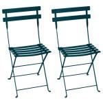 Fermob Bistro Metal Chair 2 Pcs Acapulco Blue Finnish