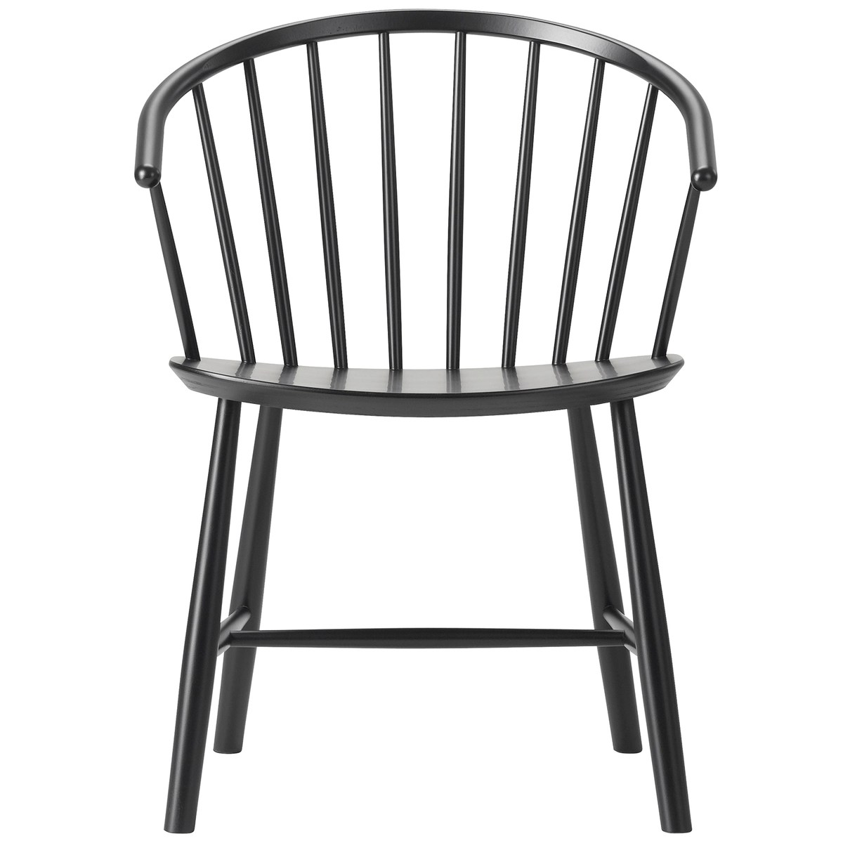 Windsor Chairs Black J64 Johansson Chair Black Ash