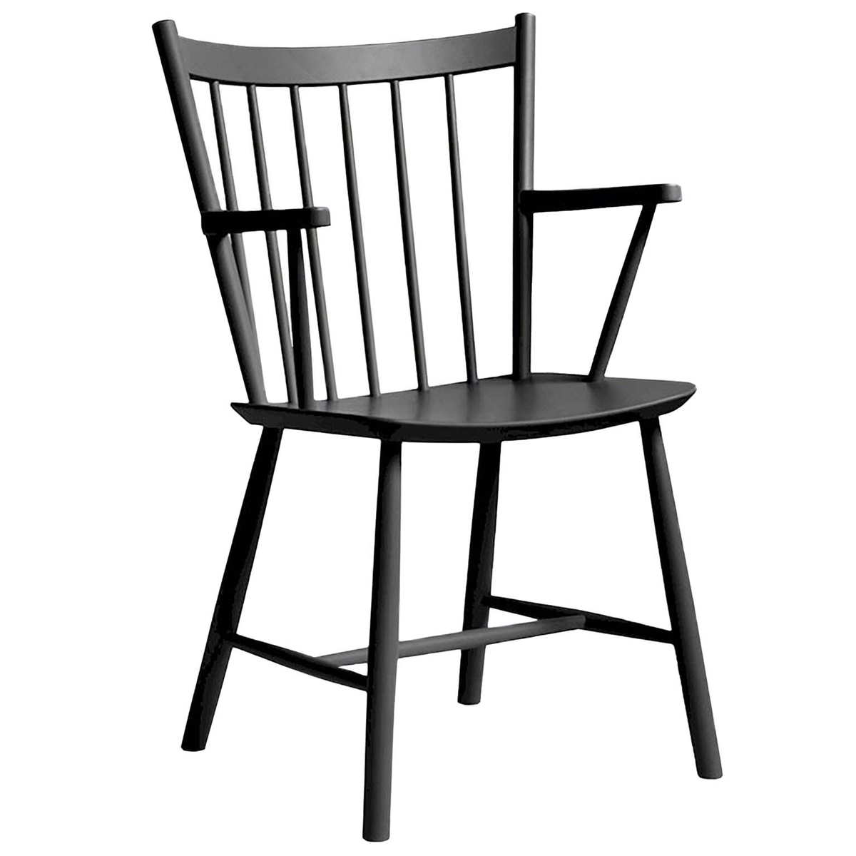 Windsor Chairs Black J42 Chair Black
