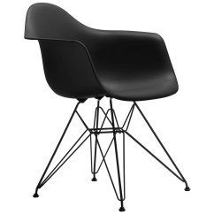 Chair Design Basics Chicco Table Mounted High Vitra Eames Dar Basic Dark Finnish Shop