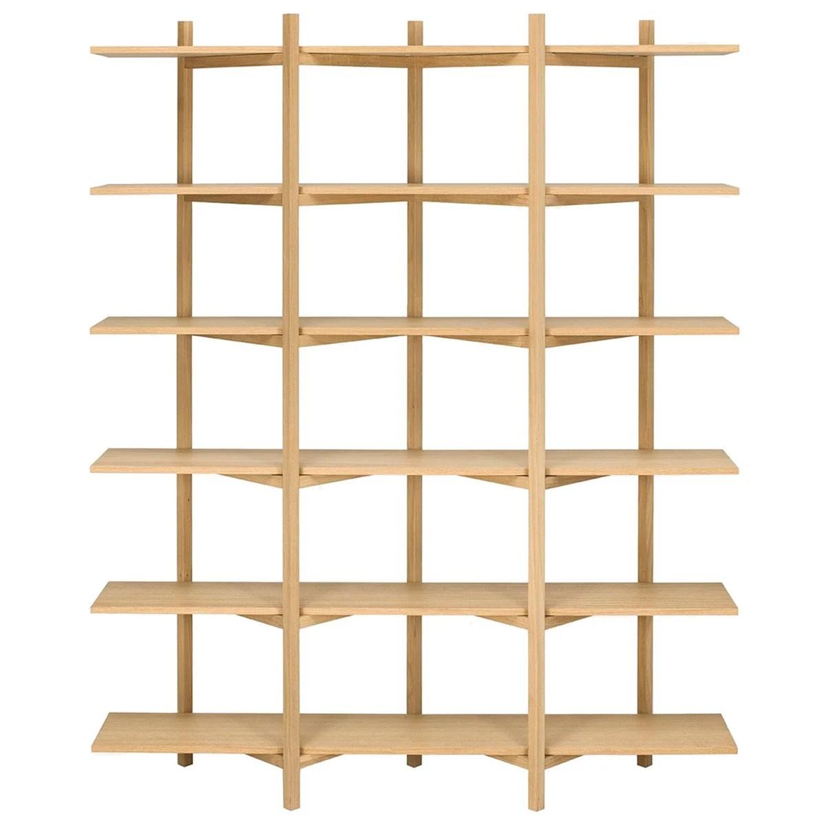 Le mensole sfruttano lo spazio sulle pareti e ti permettono di esporre gli oggetti a cui tieni di più. Hem Zig Zag High Shelf Oak Finnish Design Shop