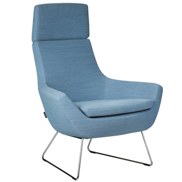 office chair high back wedding covers gretna green swedese happy easy blue finnish design shop