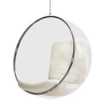 Eero Aarnio Originals Bubble Chair, white | Finnish Design ...