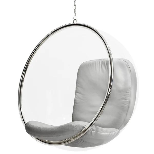 Eero Aarnio Originals Bubble Chair silver  Finnish