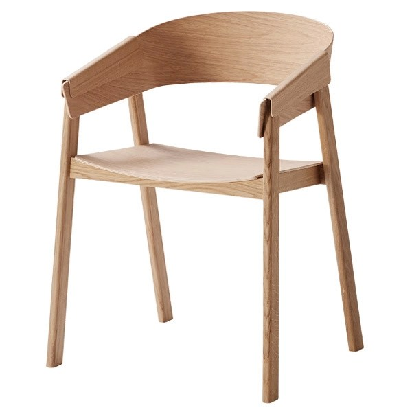 wood arm chair covers used kitchen chairs for sale muuto cover oak finnish design shop