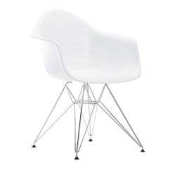 Eames Chair White Hire Covers Bristol Vitra Dar Chrome Finnish Design Shop