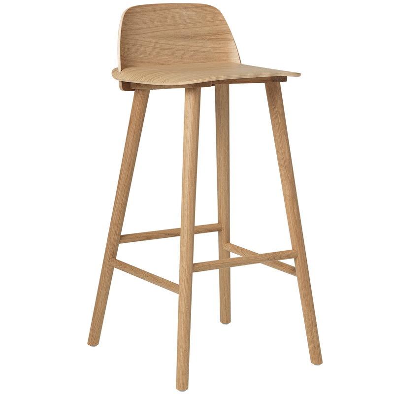 nerd chair muuto royal blue dining chairs bar stool high oak finnish design shop