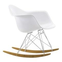 Eames Chair White Storage Racks Vitra Rar Rocking Finnish Design Shop