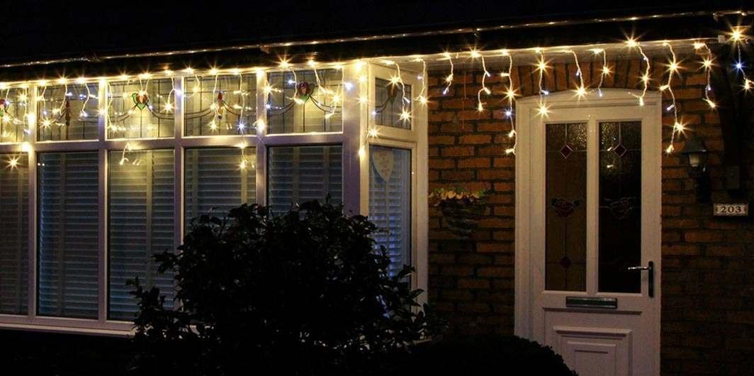 Christmas Icicle Lights Buy Stunning LED Icicle Lights