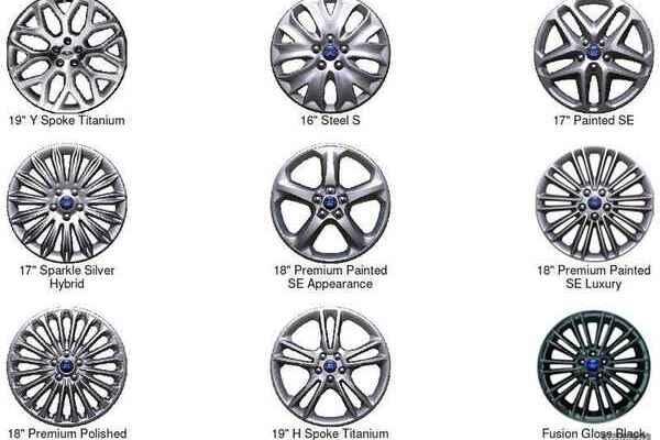 Колеса на Мондео 5, диски и размер резины / Ford Mondeo 5