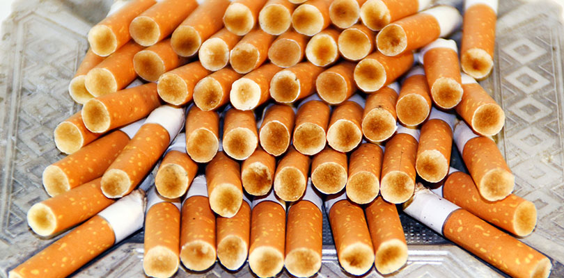Smoke Contains Harmful Chemicals