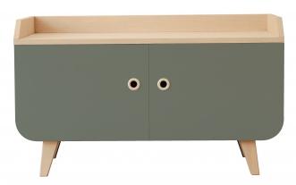 meuble bas vert meuble tv et meuble