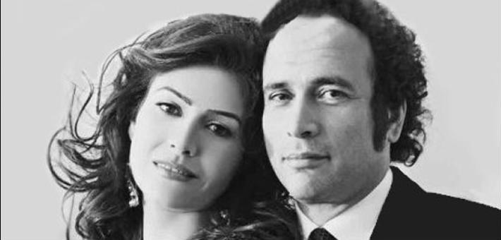 Basma and Amr Hamzawy
