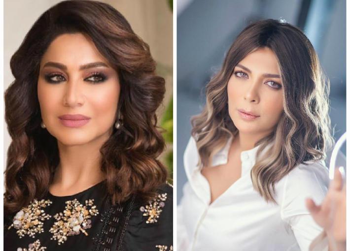 Basma Wahba (L) Assala (R)