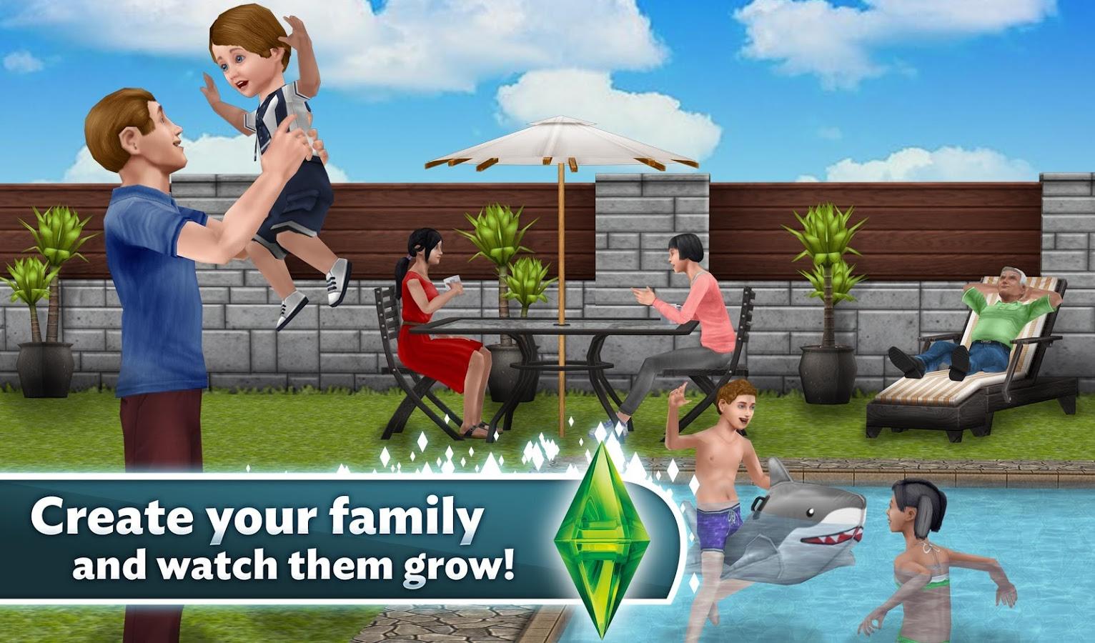 Sims FreePlay 5.21.0 MOD APK+DATA (UNLIMITED MONEY)