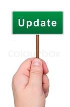Update sign