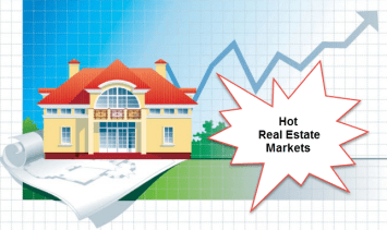 Hot real estate markets