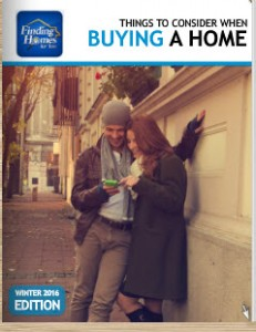 Cover of Winter Home Buyers Guide 2016 Edition