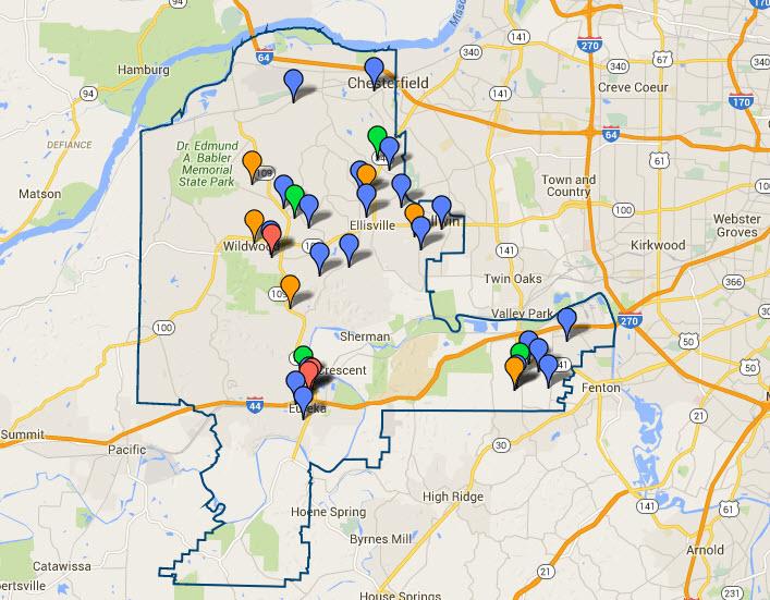 Rockwood School District Interactive Map