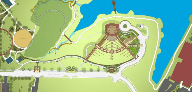 Chesterfield amphitheater map