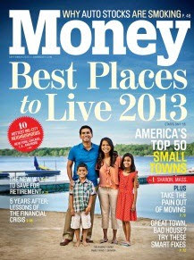 CNN Money Magazine Top 50 Places to Live List
