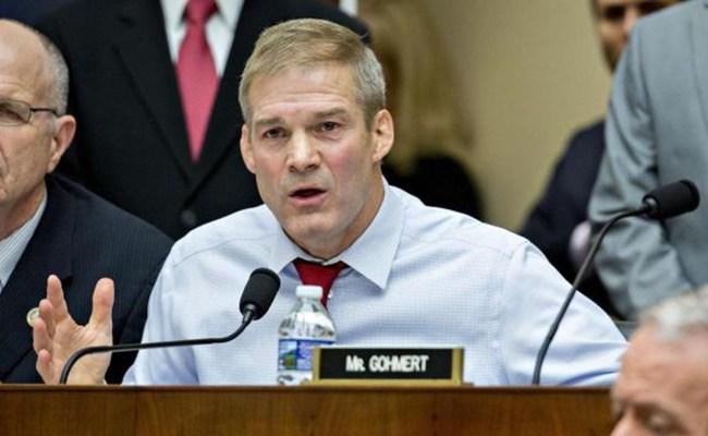 Rep Jim Jordan Accused Of Ignoring Allegations Of Sexual