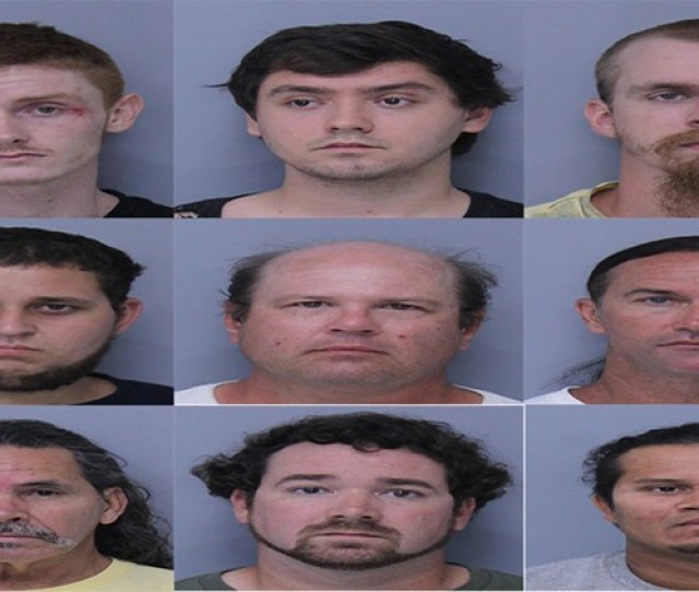 St Johns County Police Nab 9 Men In Operation Rip Current Child Sex Sting