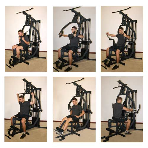 Appareil De Musculation Carbon X Press MOOVYOO
