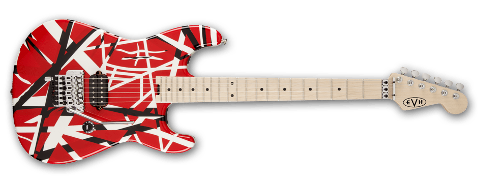 Evolution of the frankenstrat mark ii project evh evh striped series red with black stripes asfbconference2016 Choice Image