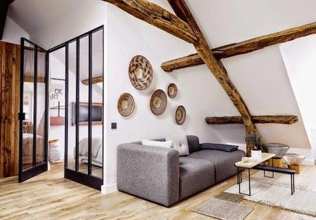Paris  L appartement de 40 m dun jeune couple de designers