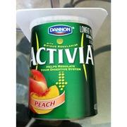 Dannon Activia Yogurt Low-fat Peach: Calories Nutrition ...