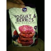 Kroger Mini Rice Cakes Yogurt Amp Berries Calories