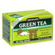 Bigelow Green Tea with Mint Calories Nutrition Analysis
