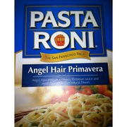 pasta roni angel hair primavera