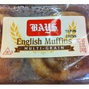 Bays English Muffins MultiGrain Calories Nutrition