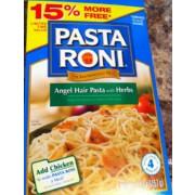 pasta roni angel hair