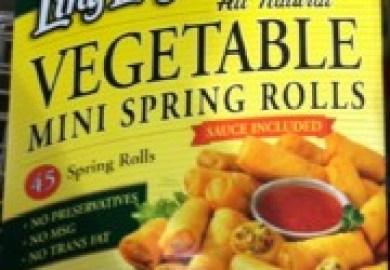 Vegetable Spring Rolls Costco