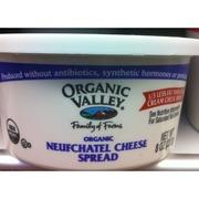 Organic Valley Neufchatel Cheese Spread Organic Calories