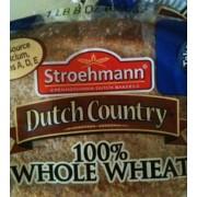 Stroehmann Dutch Country Bread 100 Whole Wheat Calories