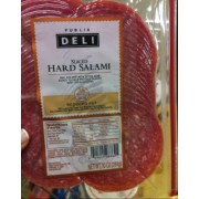 Publix Deli Sliced Hard Salami: Calories Nutrition ...