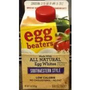 Egg Beaters Southwestern Style Egg Whites Calories