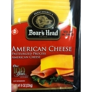 Boar39s Head American Cheese Calories Nutrition Analysis