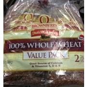 Dutch Country Dutch CountryItalian Bread 100 Whole Wheat