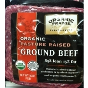 Organic Prairie Ground Beef 8515 Lean Fresh Calories