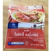 Kroger Sliced Hard Salami: Calories Nutrition Analysis ...