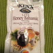 User added Kens steakhouse lite honey balsamic dressing