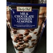Daily Chef Milk Chocolate Covered Almonds: Calories ...