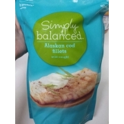 Simply Balanced Alaskan Cod Fillets Wild Caught Calories