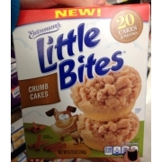 Entenmann39s Little Bites Crumb Cakes Calories Nutrition